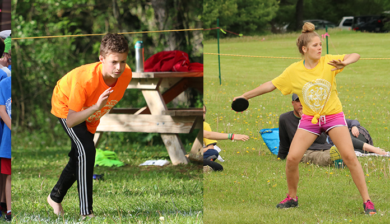 Da Vinci Waldorf School, Wauconda, IL competes in the Annual Midwest Waldorf Greek Pentathlon Games, May 17-19, 2017